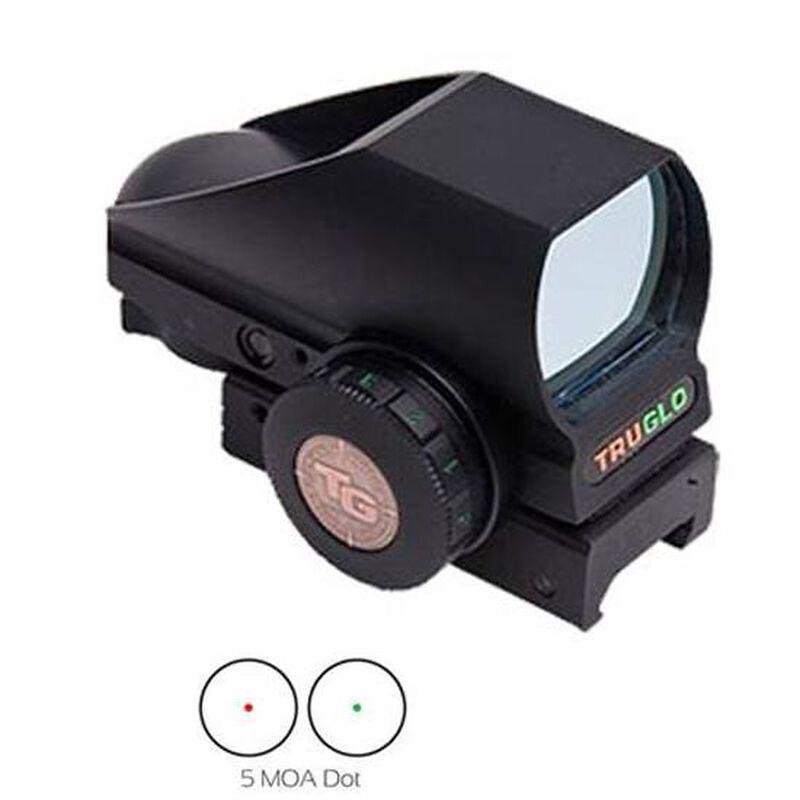 TRUGLO Tru-Brite Red/Green Sight 5 MOA Dot Black Matte TG8385BN