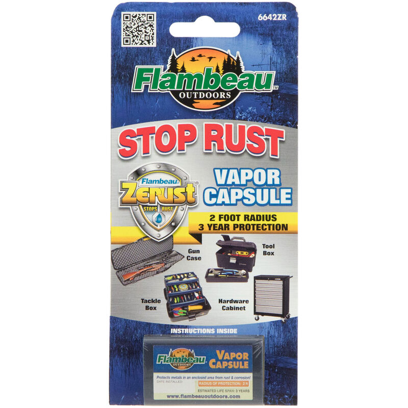 Flambeau Zerust Capsule, Rust and Corrosion Protectant