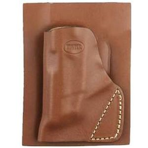 Hunter Pro-Hide Kahr P380 Pocket Holster Right Handed Leather Brown 2500-7