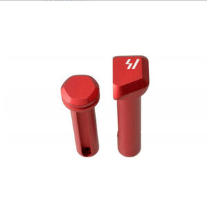 Strike Industries Ultra Light Pivot and take Down Pins Aircraft Aluminum Red