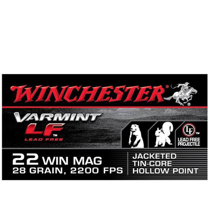 Winchester Varmint LF .22 WMR Ammunition 50 Rounds LFJHP 28 Grains