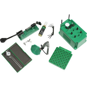 RCBS Case Prep Kit Includes Brass Boss, Trimmer, Priming Tool, & Calipers Green