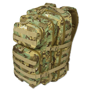 MIL-TEC Level I Assault Pack Arid Camouflage Heavy Duty 600 Denier Polyester Construction 14002256