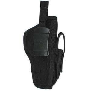 "Ambidextrous Belt Holster Medium-Frame Autos 3"" to 4"" Barrels Mag Pouch Black Warranty"