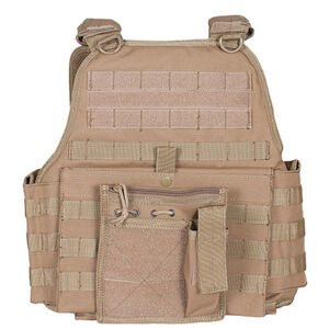 Fox Outdoor Big & Tall Vital Plate Carrier Vest Coyote