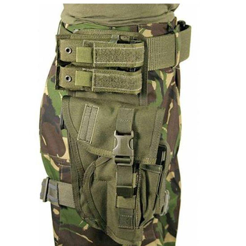 BLACKHAWK! Special Operations Drop Leg Holster Auto Pistols Right Hand Nylon Green 40XP00OD