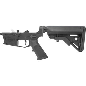 New Frontier C-45 Complete Lower Receiver Assembly .45 ACP Multi-Caliber Marked Uses GLOCK Style Magazines Billet Aluminum Standard LPK B5 Collapsible Stock Black