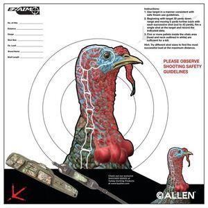 """Allen EZ Aim 12""""x 12"""" Turkey Target Pack of 6"""