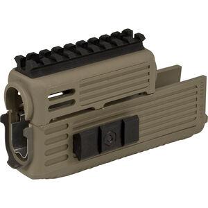 TAPCO INTRAFUSE AK-47 Quad Rail Handguard Earth
