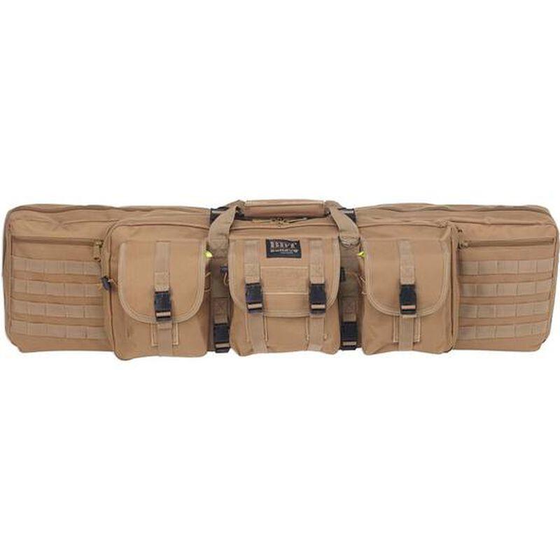 """Bulldog Tactical Rifle Case Polyester Canvas 43"""" Tan"""