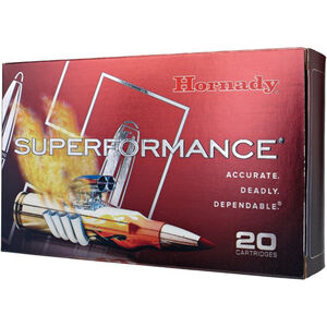 Hornady Superformance 6mm Creedmoor Ammunition GMX 90 Grain Copper Alloy Lead Free Projectile 3325 fps