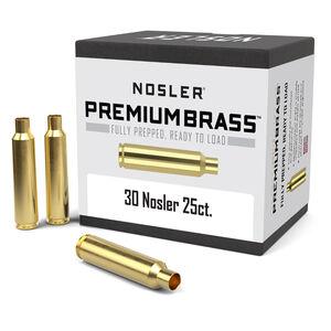 Nosler Premium Prepped Components .30 Nosler Unprimed Rifle Brass Cases 25 Count