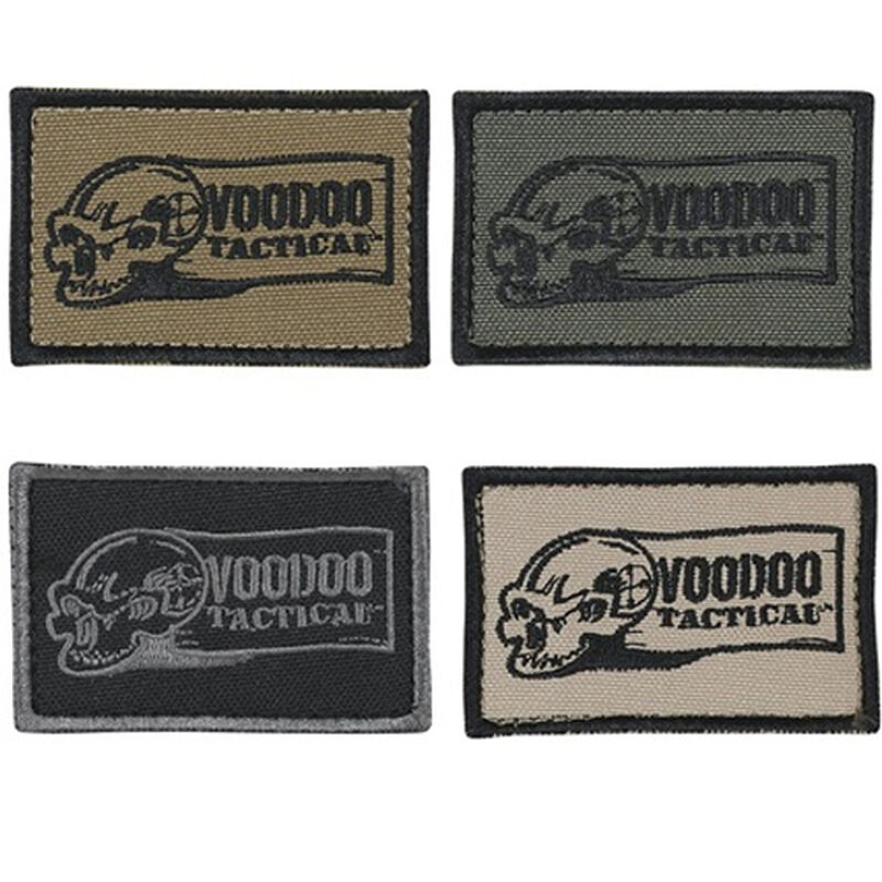 """Voodoo Tactical Logo Patch 2""""x3"""" Sand 20-915025000"""