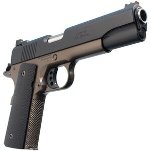 "Ed Brown Special Forces Gen-4 1911 .45 ACP Semi Auto Pistol 5"" Barrel 7 Rounds Black Laminate Grips Two Tone Low Glare Black/Battle Bronze Finish"