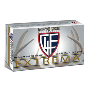 Fiocchi Extrema .45-70 Government Ammunition 20 Rounds 300 Grain Hollow Point Flat Nose 1900fps