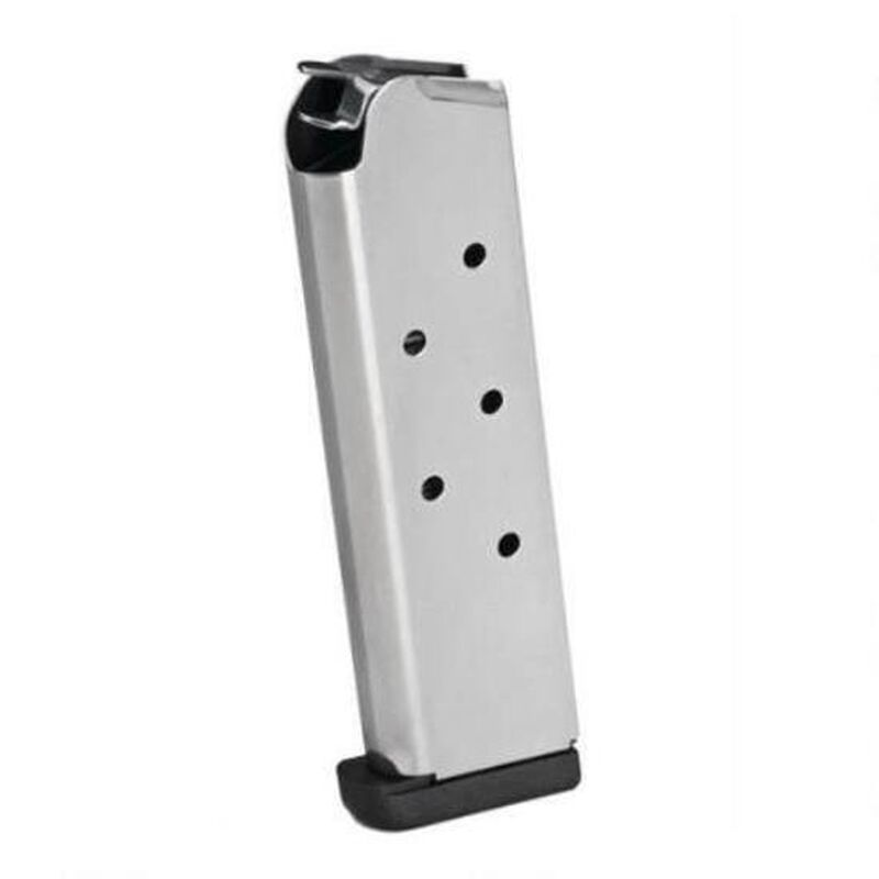 Springfield Armory 1911 Full Size Magazine .45 ACP 7 Rounds Stainless Steel PI6085