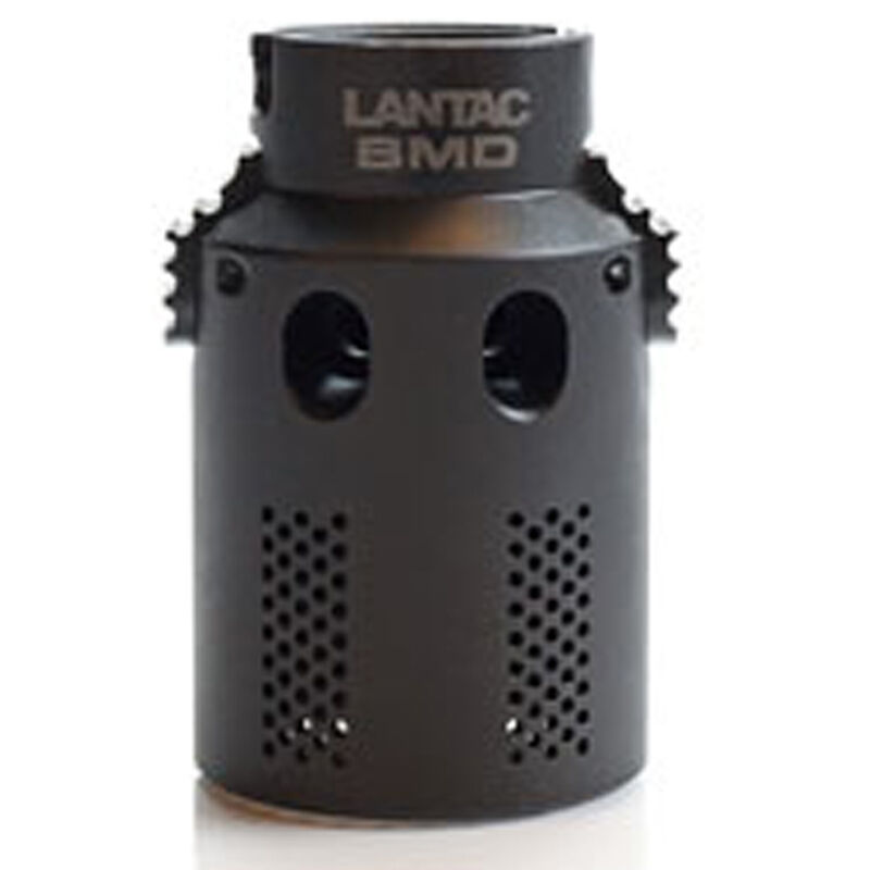 Lantac BMD Blast Mitigation Device AR-15 5.56 NATO Fits LANTAC Dragon Muzzle Brake Steel Matte Black