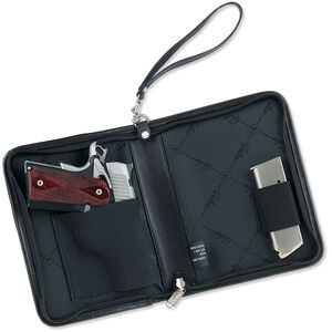 Galco Defense Planner Holster Fits Most Handguns Leather Black