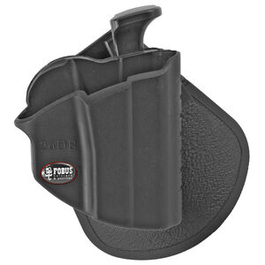 Fobus Level 2 Thumb Lever Holster Glock 26,27,33 Right Hand Roto-Belt/Roto-Paddle Attachment Polymer Black