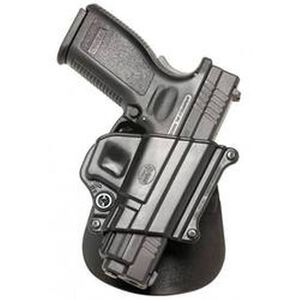 Fobus Holster H&K P2000/Springfield XD/Taurus PT111 Right Hand Roto-Paddle Attachment Polymer Black