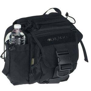 ModGear Messenger Shoulder Pack Black by Drago   Made of 1000D Cordura