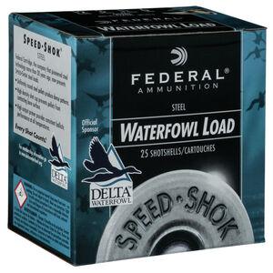 """Federal 12 Gauge Ammunition 250 Rounds 2.75"""" #4 Steel Shot 1.125 oz."""