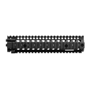 "Daniel Defense MK18 RIS II Rail Interface System 9.55"" AR-15 Free Float Hand Guard 6061-T6 Aluminum Hard Coat Anodized Finish Matte Black"