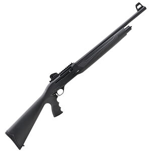 """ADCO Best Arms BA312-PG 12 Gauge Semi Auto Shotgun 20"""" Barrel 3"""" Chamber 5 Rounds Tactical Front Sight/Ghost Ring Rear Synthetic Pistol Grip Stock Matte Black"""