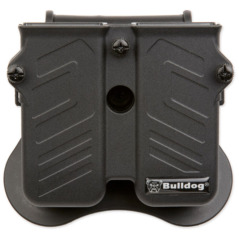Bulldog Cases Max Multi-Fit Polymer Holster with Paddle Fits Most Semi-Automatic Pistols MX-001
