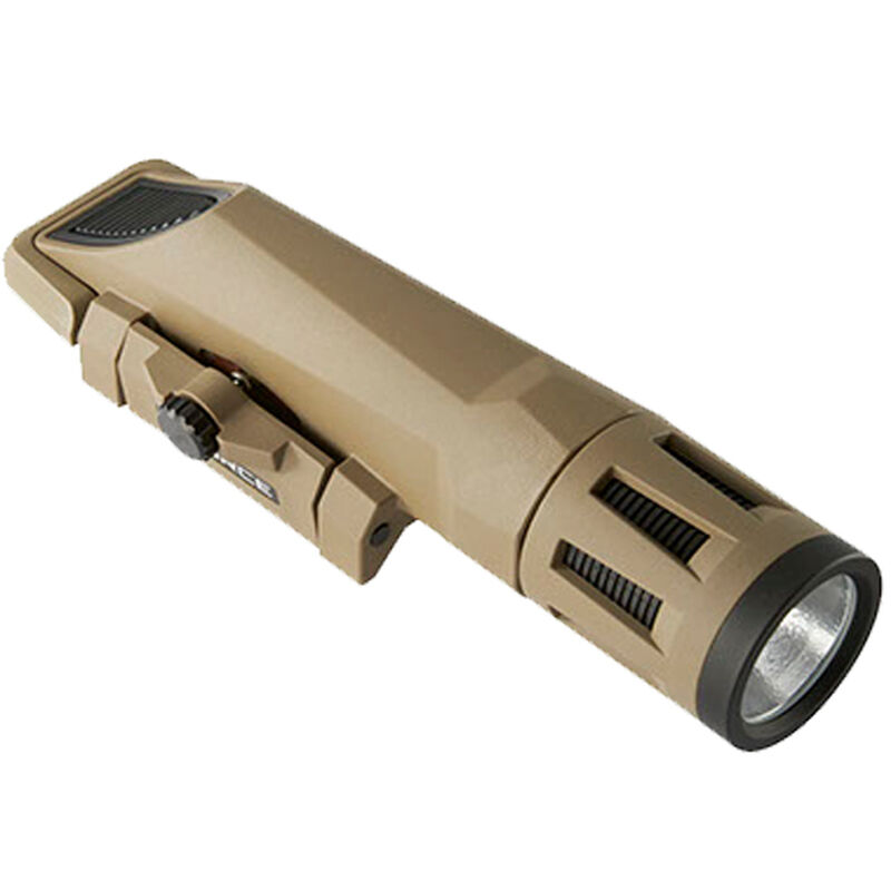 Inforce WMLX Weapon Light White/IR LED 700 Lumens Picatinny Mount CR123A Polymer FDE WX-06-2