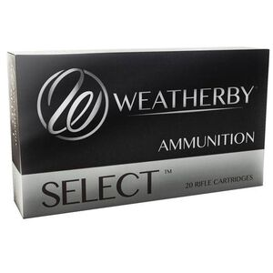 Weatherby Select .270 Weatherby Magnum Ammunition 20 Rounds 130 Grain Spire Point 3375 fps