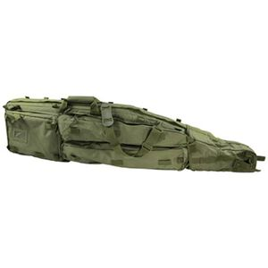 "VISM Double Rifle Drag Bag 46"" PVC Green CVDB2912G"