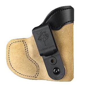 "Desantis 111 Pocket-Tuk Pocket Holster Right Hand Tan J-Frame 2.25"" Bodyguard .38 Ruger LCR Leather/Kydex 111NA02Z0"