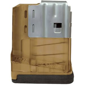 Lancer SR25/LM308 Magazine 308 Win/7.62 NATO 10 Rounds Polymer/Steel Flat Dark Earth