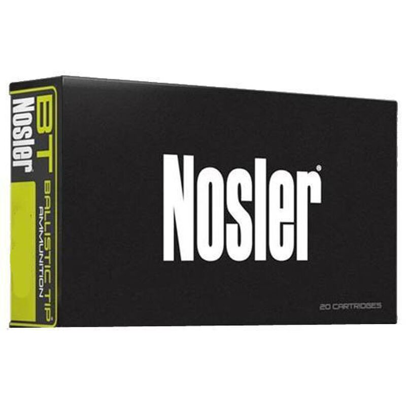 Nosler .30-06 SPRG 125 Grain Ballistic Tip 20 Round Box
