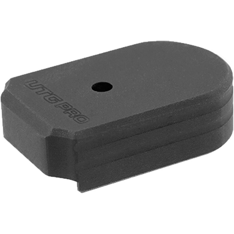 Leapers UTG PRO +0 Base Pad SIG P320 9mm/ 40 S&W Magazine Floor Plate  Replacement Aluminum Black