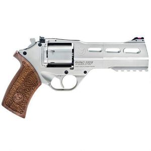 "Chiappa White Rhino 50DS 357 Mag 5"" 6rds Wood/Nickle"