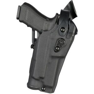 Safariland 6360RDS Level III Duty Holster Fits GLOCK 17 Gen 4 MOS with TLR-2 and Red Dot Optic Right Hand Hardshell STX Plain Black