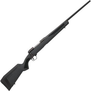 """Savage 110 Hunter Bolt Action Rifle .300 Win Mag 24"""" Barrel 3 Rounds Synthetic Adjustable AccuFit AccuStock Black Finish"""