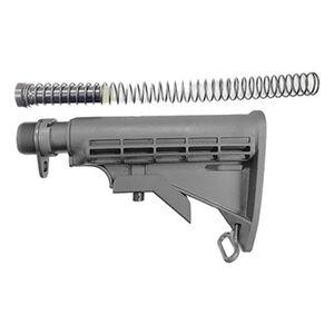KE Arms AR-15 9mm Luger Complete Buttstock Assembly Matte Black