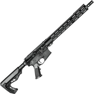 "ZRODelta Ready Base 5.56 NATO AR-15 Semi Auto Rifle 16"" Barrel .223 Wylde Chamber Free Float M-LOK Handguard Collapsible Stock Black"