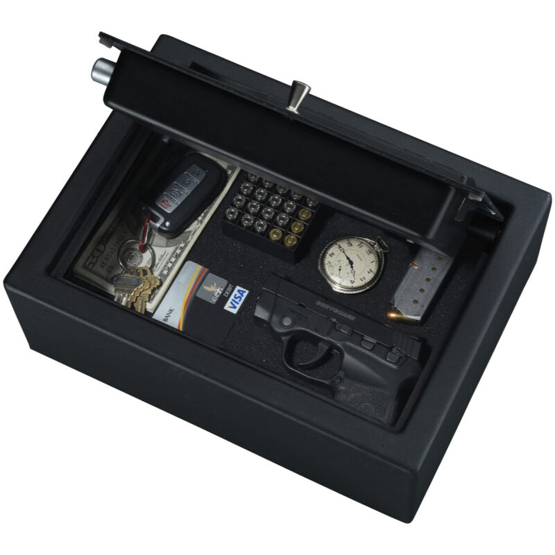 """Stack-On Small Drawer Pistol Safe With Electronic Keypad, 12"""" x 8.75"""" x 4.5"""""""