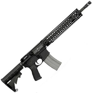 "Bravo Company USA RECCE 14 Mod0 Carbine AR-15 Semi Auto Rifle .223 Rem/5.56mm NATO 14.5"" Government Profile Barrel 30 Rounds Mid-Length Gas Troy TRX Free Float Rail Collapsible Stock Black BCM780-140"