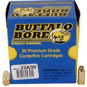 Buffalo Bore .40 S&W +P Ammunition 20 Rounds JHP 155 Grain 23A/20