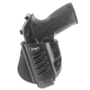 Fobus Evolution Holster Beretta 92 Series,PX4 Storm/FN FNS,FNX/S&W Shield Left Hand Paddle Attachment Polymer Black