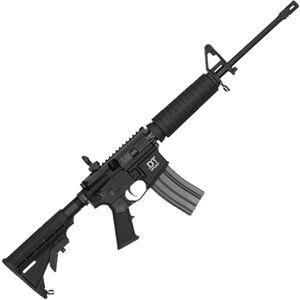 """Del-Ton Sport Mod 2 AR-15 Semi Auto Rifle 5.56mm NATO 16"""" Barrel 30 Rounds 6 Position Stock Black"""