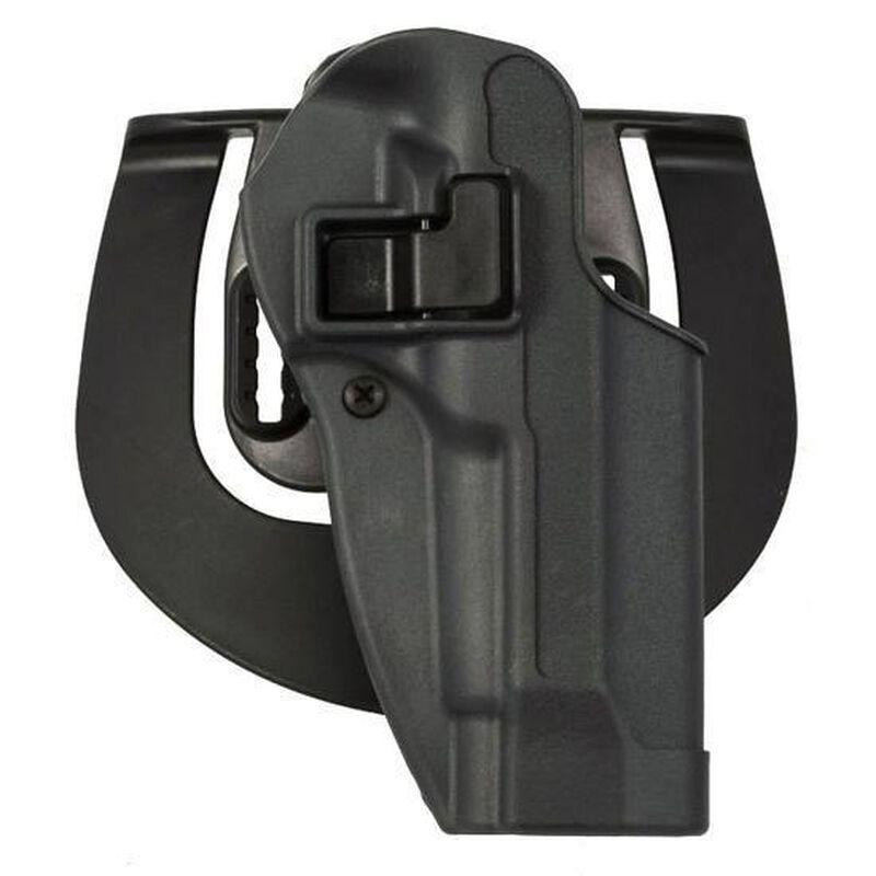 BLACKHAWK! SERPA SPORTSTER 1911 Government Paddle Holster Right Hand Polymer Gunmetal Gray 413503BKR