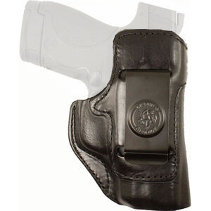 DeSantis Inside Heat IWB Holster Fits S&W M&P 380 Shield EZ Right Hand Leather Black