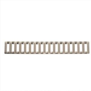 ERGO 18 Slot Low-Pro Ladder AR-15 Rail Cover Three Pack Dark Earth 4373-3PK-DE