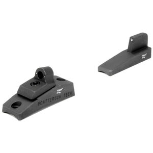 Trijicon Ghost Ring Night Sight Set With Green Tritium Front Sight Remington 870/1100/1187 Steel Parkerized RE04